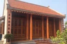 Tìm hiểu cấu trúc của nhà gỗ 3 gian Việt Nam