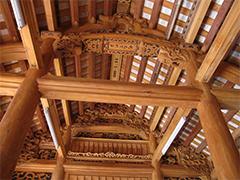 Nhà gỗ 5 gian- Nhà ông Đạo, Đại Đồng, Thạch Thất