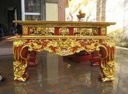 Sập thờ sơn son thếp vàng